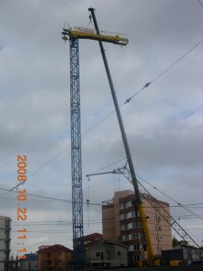 TOWER CRANE MOUNTING