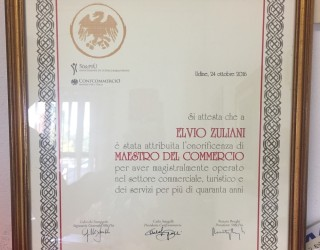 Elvio Zuliani maestro del commercio!