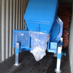 Container to Ethiopia with forks, props and concrete mixers