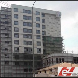 EZ Group's scaffolding in Douala, Cameroon